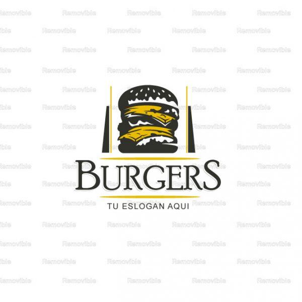 Diseño Logotipo Hamburguesas