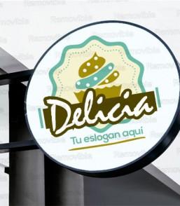 Diseño de Logo Cake