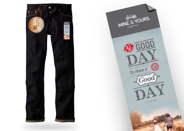 Diseño Etiquetas Jeans